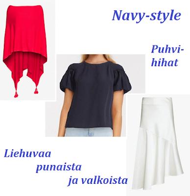 Navy-style