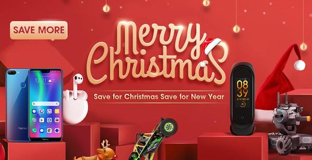 Promoção Natal e Ano Novo na Tomtop