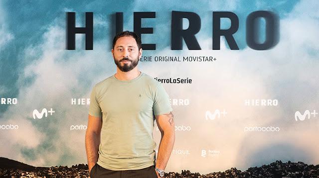 Matias Varela en la presentación del rodaje de la 2ª temporada de 'Hierro' de Movistar+