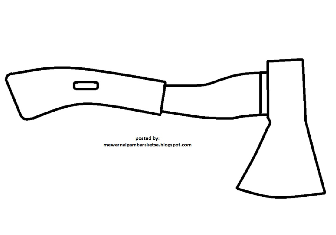 Download Sketsa Gambar Kran Air Kartun