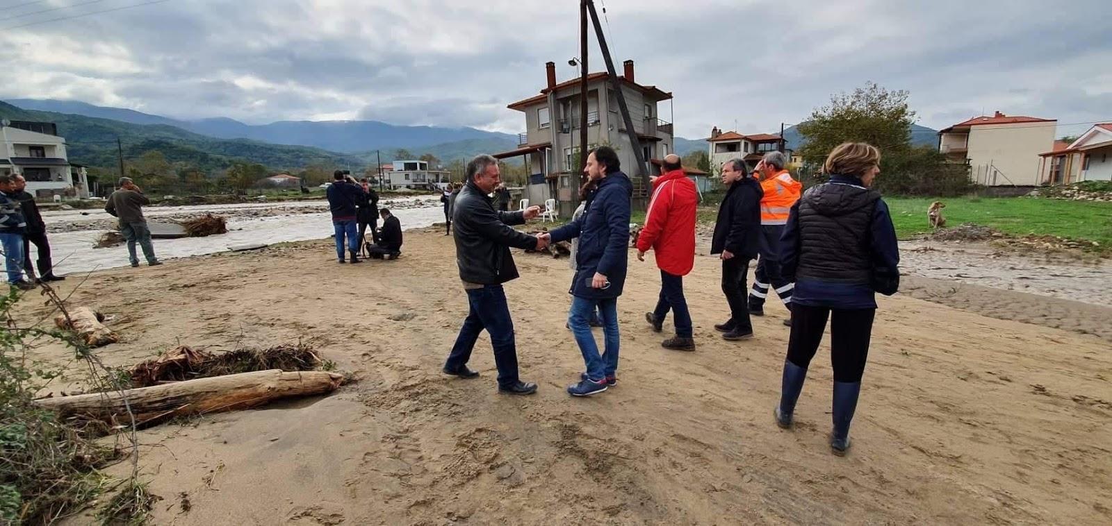 ''Απ.Πάνας: Επείγουσα η ανάγκη αντιπλημμυρικών έργων στη    Χαλκιδική''