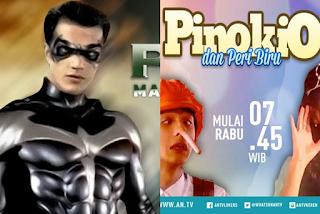 Jadwal Tayang Pinokio dan Peri Biru ANTV