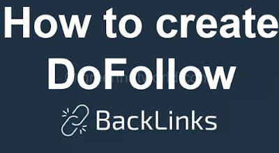Create DoFollow Backlinks Complete Course