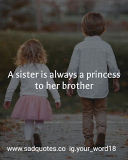 Brother and sister quotes and status