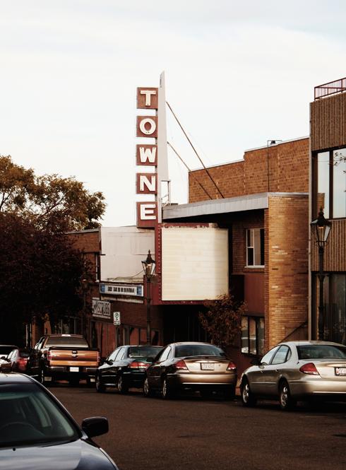 Towne Theatre Medicine Hat Alberta