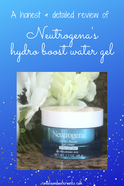 hydro boost water gel; review of moisturizer; review of neutrogena product; best moisturizer