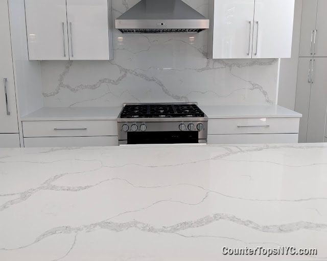 white kitchens with quartz countertops