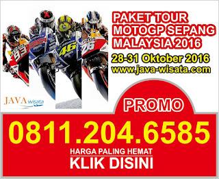 Paket Tour Nonton MotoGP Sepang Malaysia 4D3N