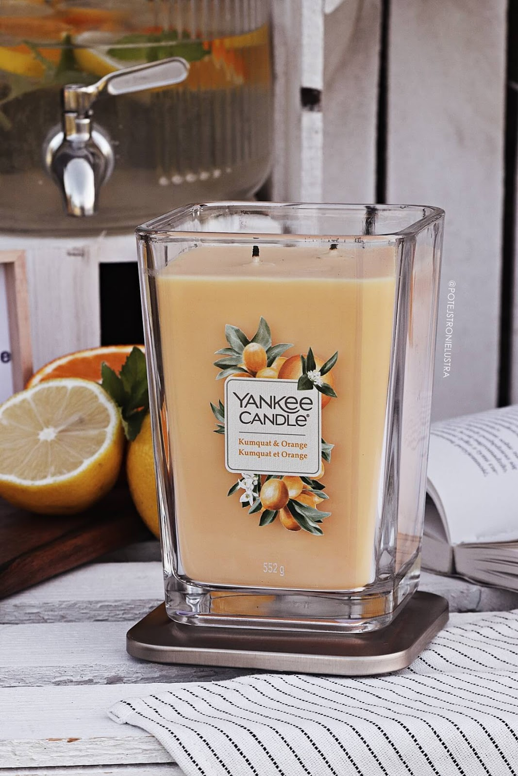 świeca zapachowa yankee candle kumquat & orange nowość na lato 2020
