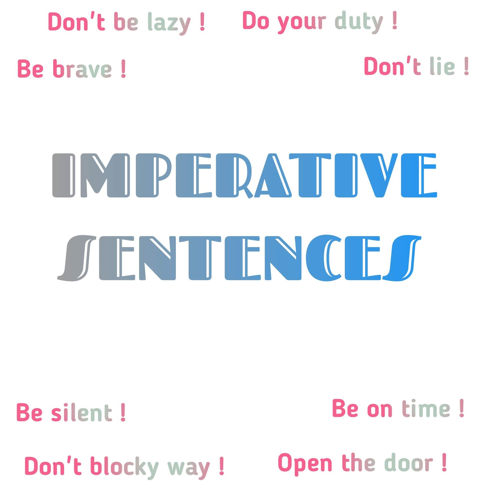 Imperative Sentence | Pengertian Macam dan Contoh Kalimat ...