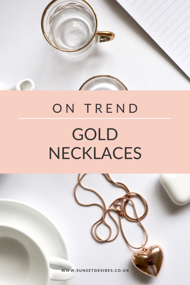 On Trend: Gold Necklaces Post Banner