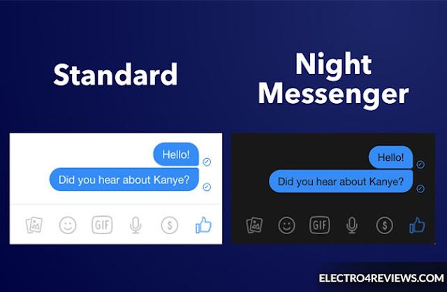 Facebook, facebook night mode, messanger, messanger night mode, fb, fb night,update messenger