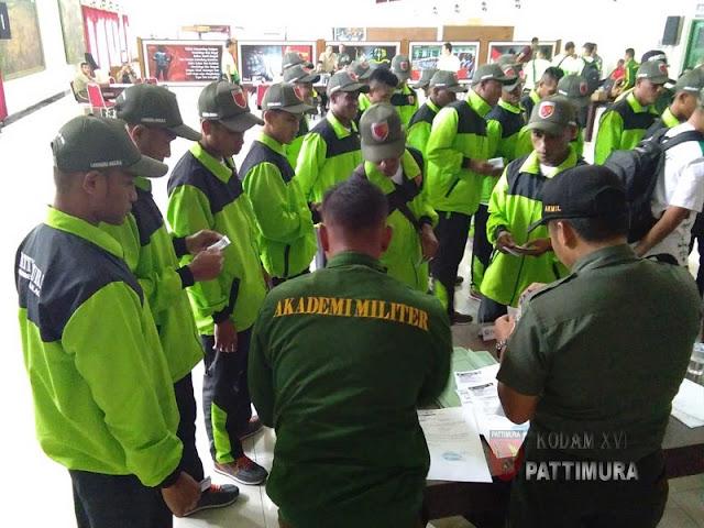 130 Atlet Kodam Pattimura Ikuti Pekan Olahraga Angkatan Darat 2018