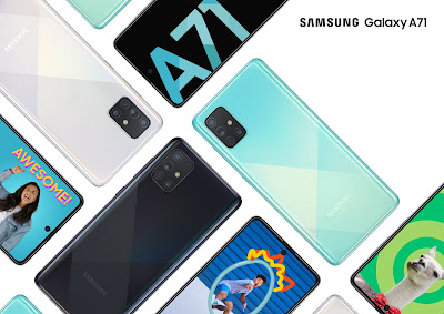 Samsung Galaxy A71 with 64MP Quad Rear Camera launched