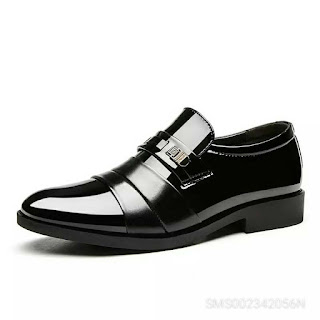 Men's Business Casual Leather Big Shoes