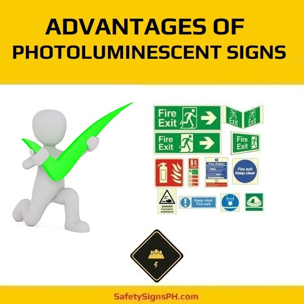 Advantages Of Photoluminescent Signs