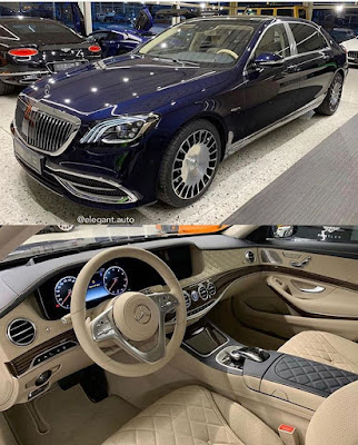 MERCEDES MAYBACH FOR BOSSES