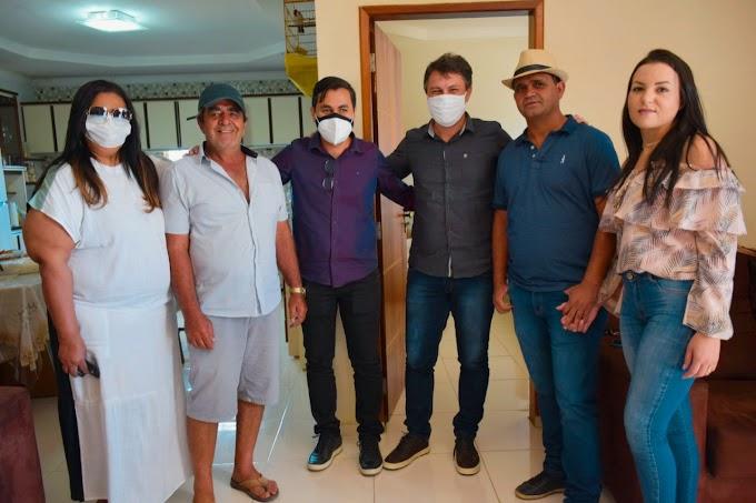 Edeson Siqueira visitou amigos e lideranças políticas em Buíque