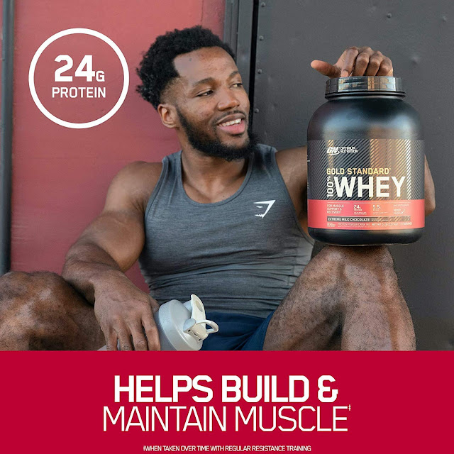 100% Whey Protein Powder, Double Rich Chocolate