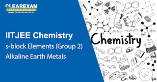 NEET Chemistry s-block Elements – Alkaline Earth Metals (Group 2)