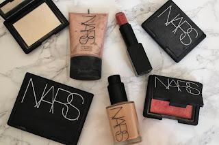 Nars foundation-powder-highlighter-lipstick-bronzer-blusher-collection