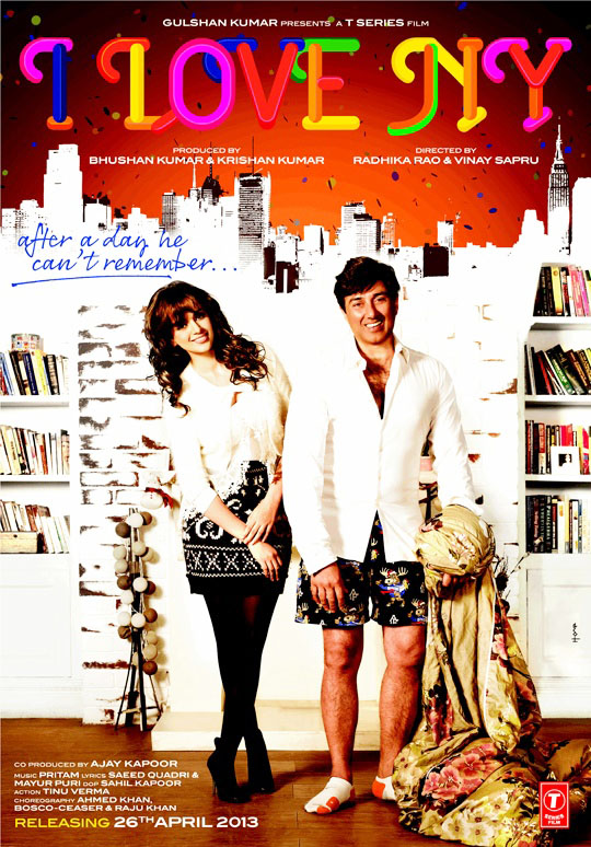 I Love NY Movie Poster - 2013