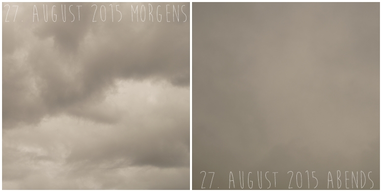 Blog & Fotografie by it's me! - Himmel am 27. August 2015