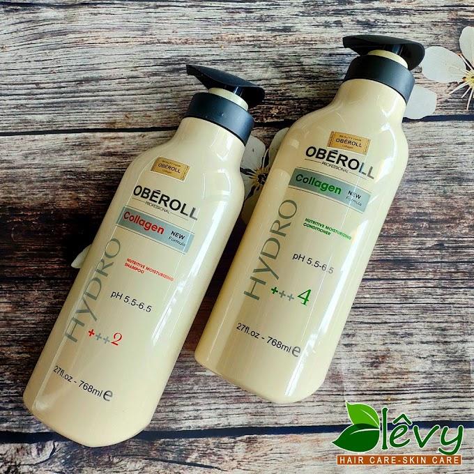 Cặp dầu gội OBEROLL collagen