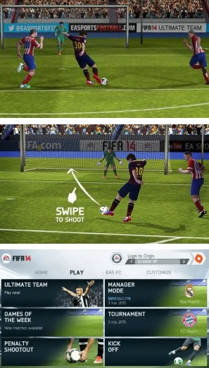 FIFA 14 v1.3.6 Mod Apk+Data Full Version (Unlocked) Update 2018