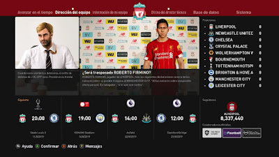 PES 2020 Press Room Liverpool FC by Ivankr Pulquero
