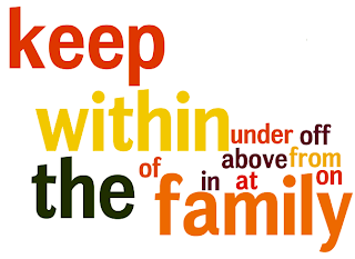 O que significa keep it within the family?