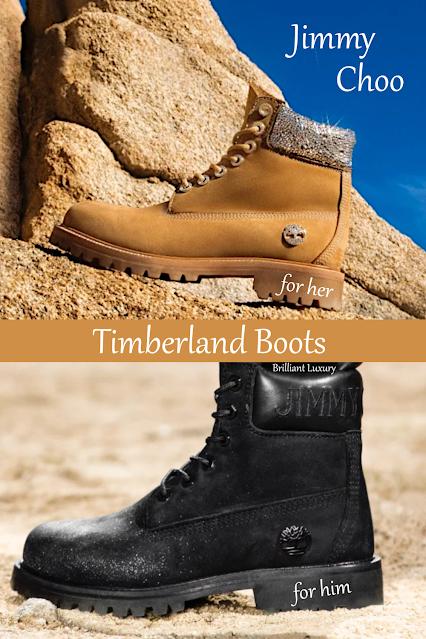 Jimmy Choo Timberland shoe collection #brilliantluxury