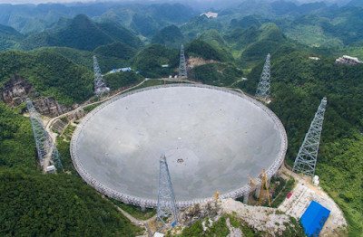 China Builds World Largest Single-Aperture Telescope Called FAST