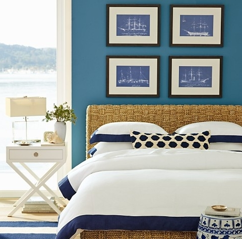 ship blueprints wall decor ideas