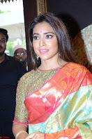 Shriya Saran Looks Stunning in Silk Saree at VRK Silk Showroom Launch Secundrabad ~  Exclusive 110.JPG