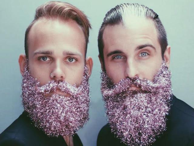 Barba Masculina enfeitada (3)