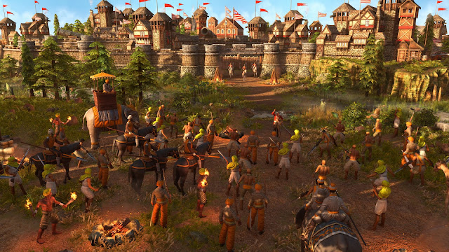 Screenshot Gameplay Age of Empires III: Definitive Edition PC