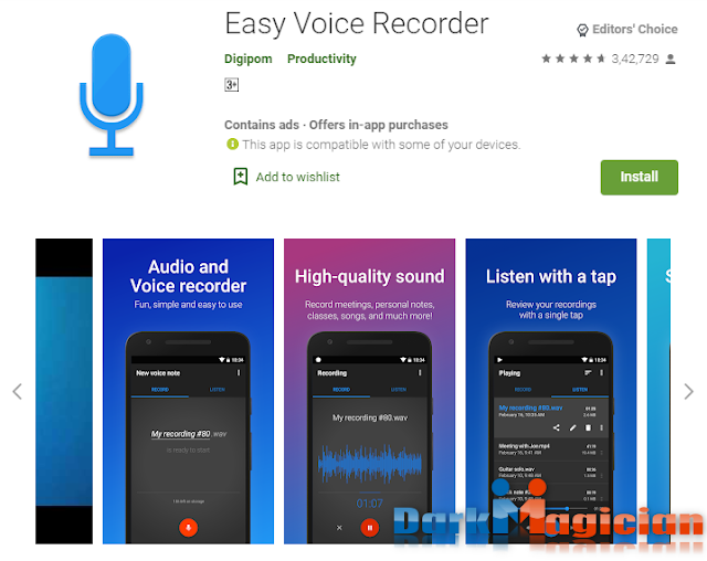 সেরা ১০ টি Voice Recorder App