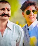 रतन चाैहान अपने पिता के साथ