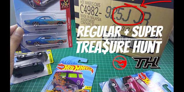 TREASURE HUNT Hot Wheels LOT J / BOX J 2018 Unboxing