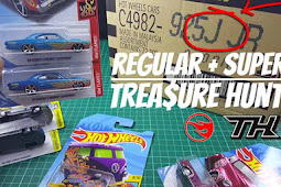 DAPET LAGI!! SUPER TREASURE HUNT + REGULAR TREASURE HUNT Hot Wheels LOT J / BOX J 2018 Unboxing