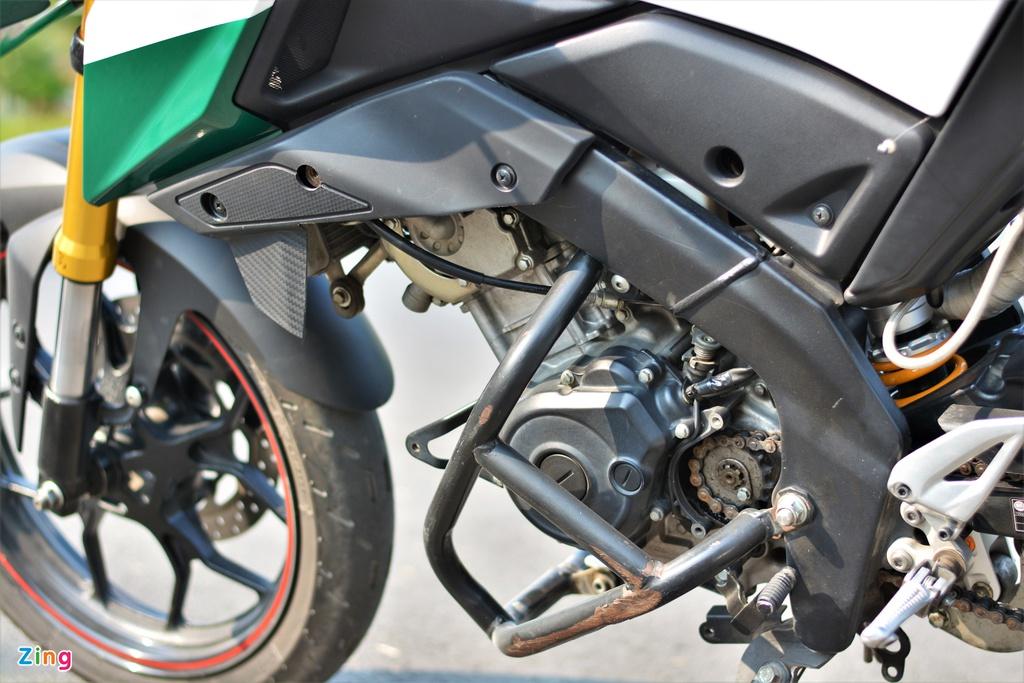 Yamaha TFX biến hóa thành Ducati Hypermotard độc nhất VN