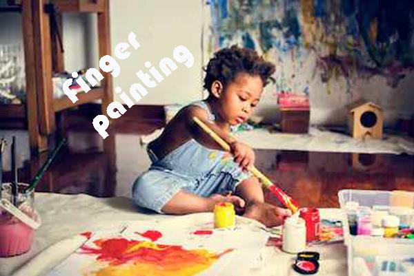 Cara Membuat Finger Painting
