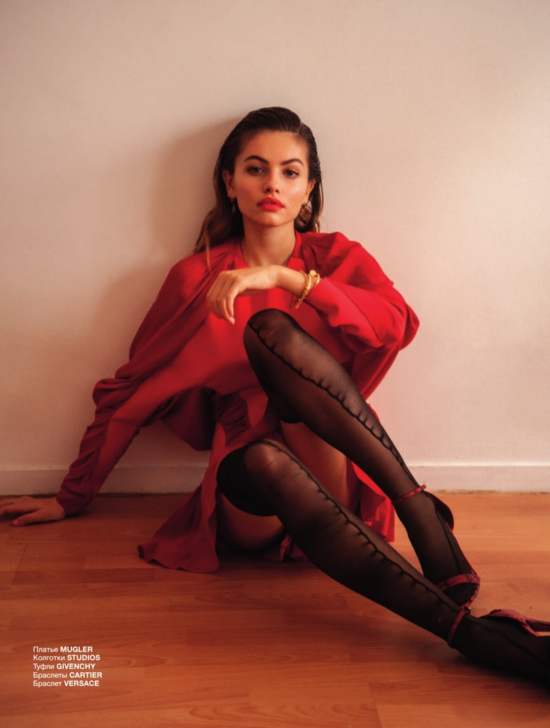 Thylane Blondeau - Numero Russia
