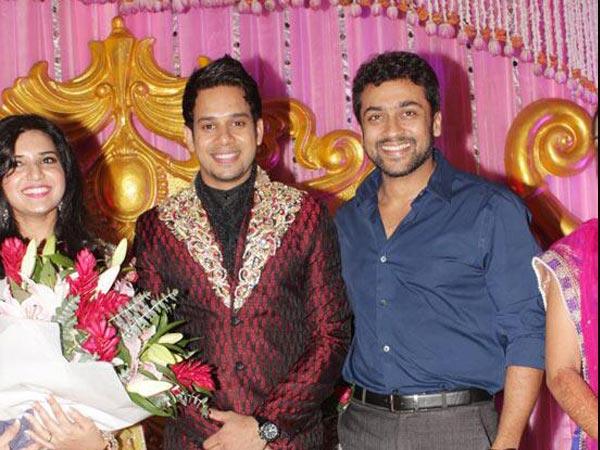 Actor Bharath Jeshly S Wedding Reception Al Posted