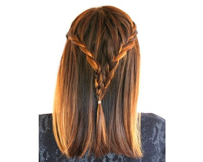 Game Of Throne Half-Up Braid