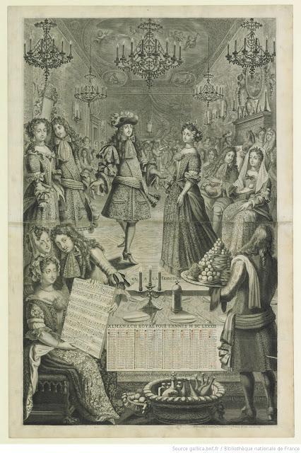 Un bal à la française au XVIIème siècle