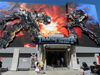 "Simulador temático do filme ""Transformers"""