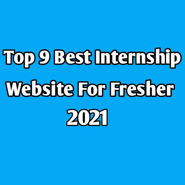 Top 9 Best Internship Websites In India For Freshers