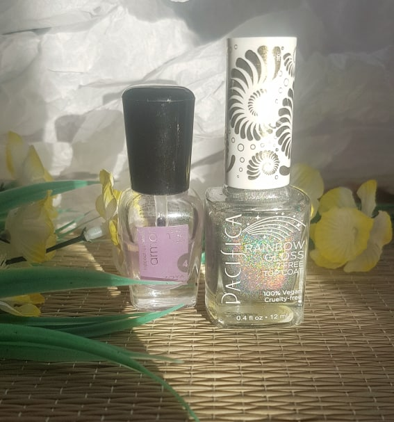 Pacifica Rainbow Nail Polish and Zoya Top Coat  - Best Makeup of 2019
